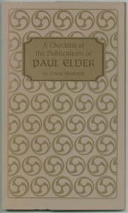 Cover of the 2nd edition checklist