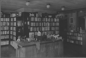 The children's book room, on the 2nd floor