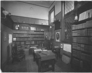 The old book room. Paul Elder was a well-known antiquarian book dealer.