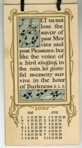 Calendar May 1907