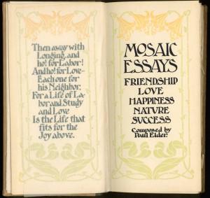 Mosaic Essays title