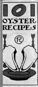 101 Oyster Recipes