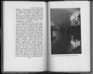 """""""Palace of Fine Arts and Lagoon"""", page 10"""