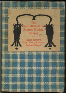 Cover of  the 1904 calendar