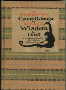 Cover of the 1905 calendar