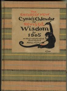 Cover of the 1905 calendar