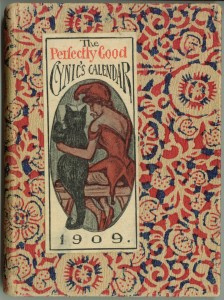 Cover of the 1909 calendar