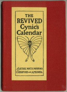 "Cover of the 1917 ""revived"" calendar"