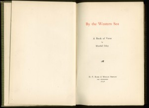 "Title page of ""By The Western Sea"""