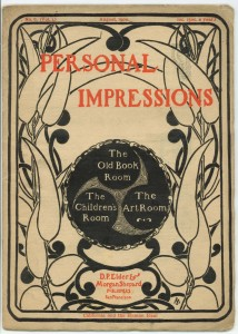 Impressions Aug 1900 cover