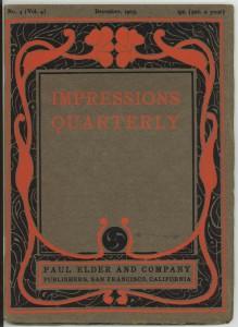 Impressions Dec 1903 cover