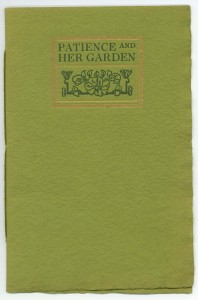 "Cover of ""Patience Her Garden"""