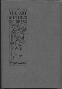 "cover of ""Art and Ethics of Dress"""
