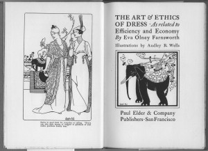 "Title page of ""Art and Ethics of Dress"""