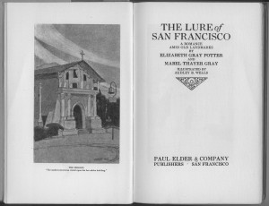 "Title page of ""The Lure of San Francisco"""
