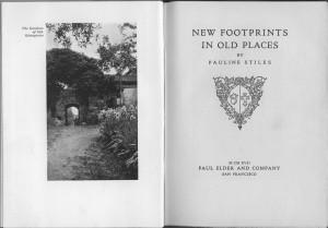New Footprints title