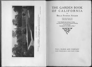 Garden Book CA title