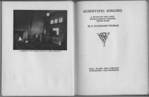 Scientific Singing title
