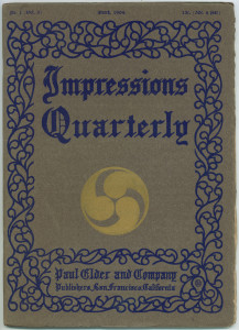 Impressions Quarterly, March 1904
