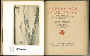 Impressions Ukiyo-ye title