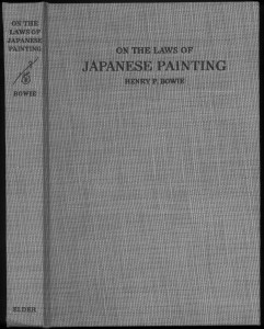 Laws of Japanese Painting cover