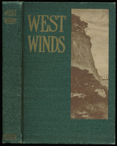 "Cover of ""West Winds"", green cloth"