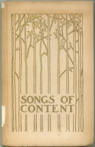 Songs of Content 1st ed cover