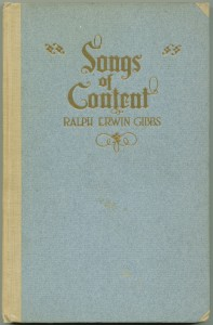 Songs of Content 2nd ed cover