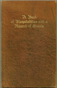 Book of Hospitalities cover