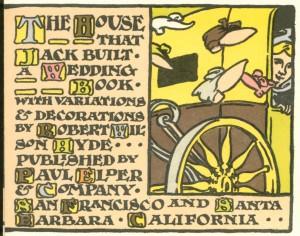 House That Jack Built colophon