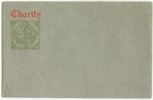 Charity envelope