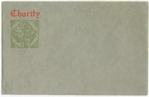 Charity envelope