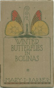 "Cover of ""Winter Butterfiles in Bolinas"""