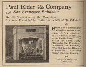 The booth as featured in a 1915 catalog.
