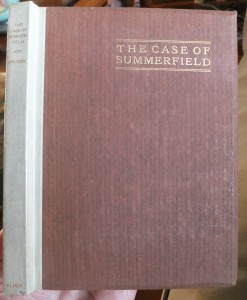 "Cover of ""The Case of Summerfield"", Western Classics #3"