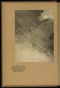 """Frontispiece of """"The Princess of Manoa"""""""