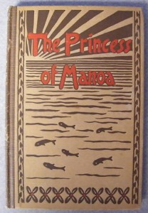 """Cover of """"The Princess of Manoa"""""""
