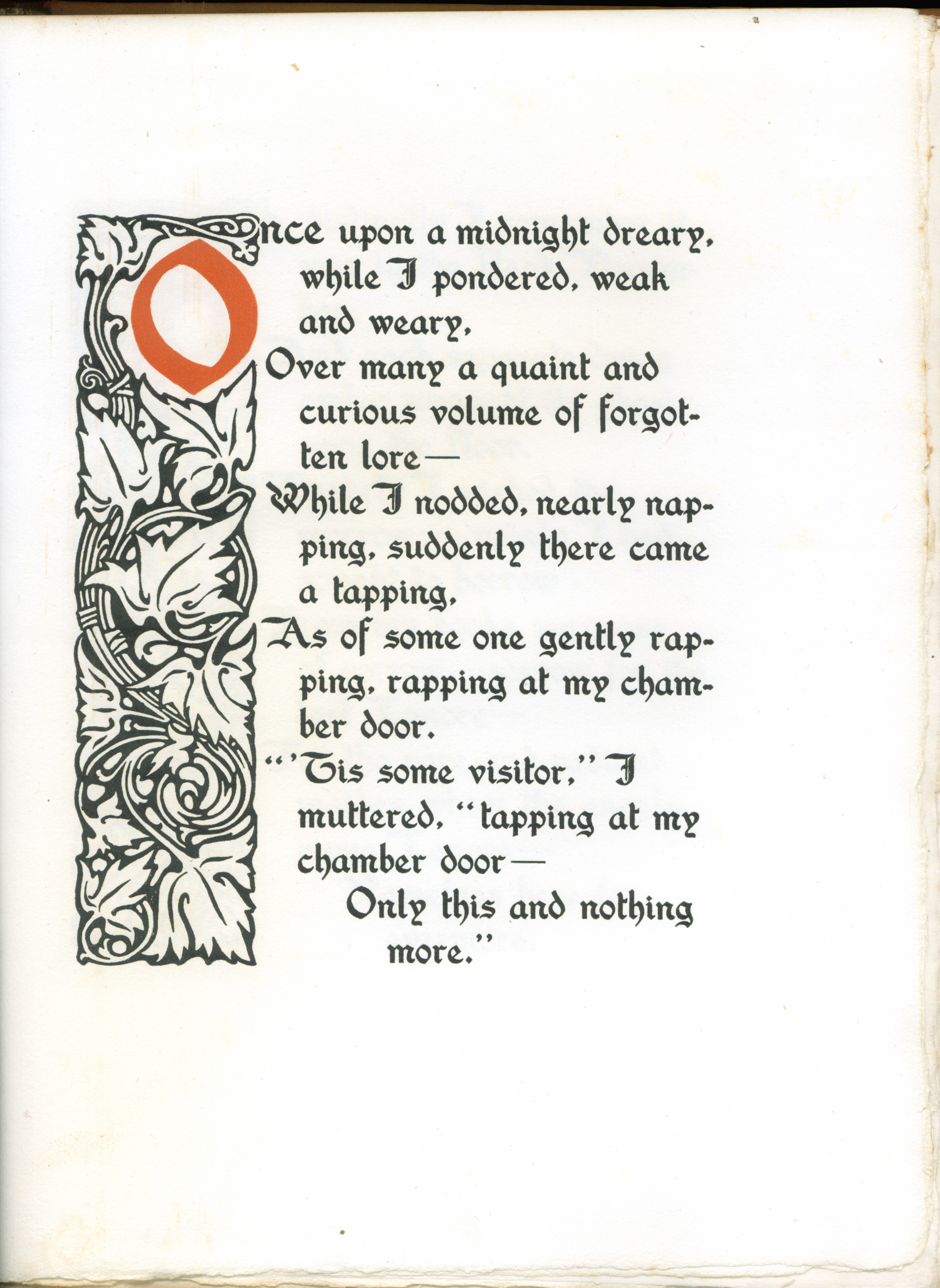 paul elder co the raven  first page of the poem