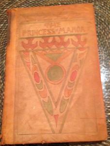 "Custom leatherbound edition of ""Princess of Manoa"""
