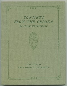 "Cover of ""Sonnets of Crimea"""