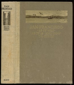 "Cover and spine of ""San Francisco"""