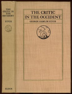 "Cover of ""Critic in the Occident"""