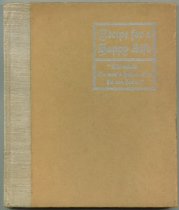 "Cover of ""Recipe For a Happy Life,"" orange version"