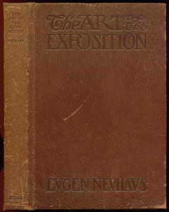 "Cover of ""Art of the Exposition"" (leather on boards)"