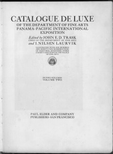Title page of volume two