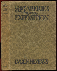 "Dustjacket of ""Galleries of the Exposition"""
