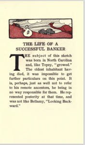 "Page 1 of ""Life of a Successful Banker"""