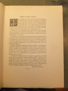 Page vii of volume one (Preface)
