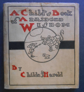 "Dust jacket of ""A Child's Book of Abridged Wisdom"""