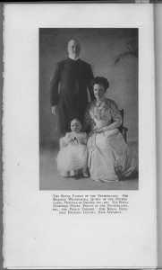 "Frontispiece of ""Holland"" - the Dutch Royal Family"